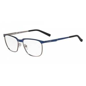 Arnette Men's Hornstull Rectangular Sunglasses, Dark Blue Matte Gunmetal, 54 mm