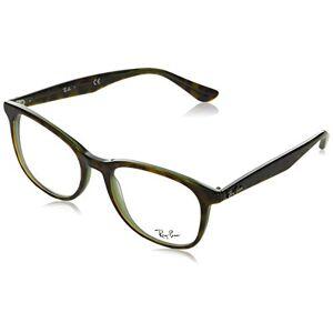 Ray-Ban RX5356 anteojos de sol cuadradas (52 mm), color verde