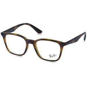 Ray-Ban RX7177 Gafas de sol cuadradas, no polarizadas, para hombre, 49 mm