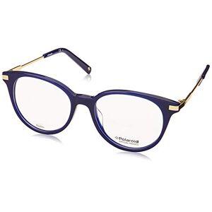 Polaroid  Monturas de gafas para Mujer, Blue, 49 mm