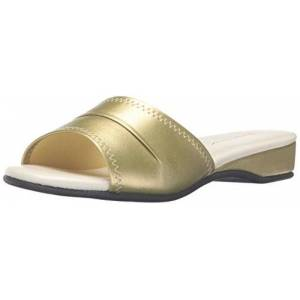 Daniel Green Women's Dormie Slipper,Gold,8.5 W