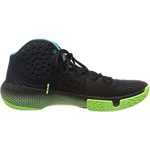 Under Armour HOVR Havoc 2 Zapatillas de Baloncesto para Hombre, Negro (001)/Lime Light, 11
