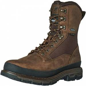 "Ariat Men's Conquest Round Toe 8"" GTX 400g Hunting Boot, Dark Brown, 11 D US"