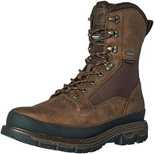 "Ariat Men's Conquest Round Toe 8"" GTX 400g Hunting Boot, Dark Brown, 10 D US"