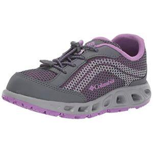 Columbia Youth Drainmaker IV Zapatos de Agua para niños, Grafito, Luces del Norte, 20 MX Niño pequeño