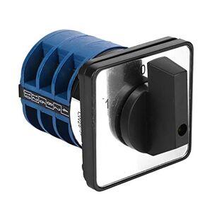 Esenlong Interruptor de Cambio de Levas de Plástico Lw28-32 / 3 para La Conversión de Varias Líneas de Control Azul + Negro