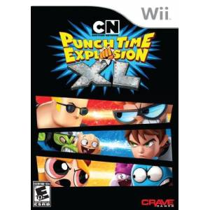 SVG Distribution Cartoon Network: Punch Time Explosion XL Nintendo Wii