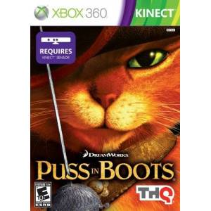 THQ Puss in Boots Xbox 360