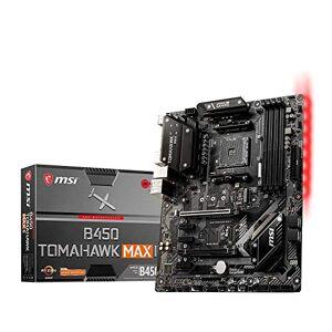 MSI COMPUTER B450 TOMAHAWK MAX II Gaming Motherboard (AMD Ryzen 3000 3rd gen ryzen AM4, DDR4, M.2, USB 3.2 Gen 1, HDMI, ATX) Standard Edition Windows Vista; Windows XP; Mac; Linux
