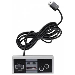 Retro-Bit RB-NES-6942 Retro 8 Pro Controller Classic, Wired, Compatible with Wii/Wii U Standard Edition
