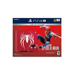 Sony Interactive Entertainment LLC PlayStation 4 Pro 1TB Edition Console Marvel's Spider-Man Bundle