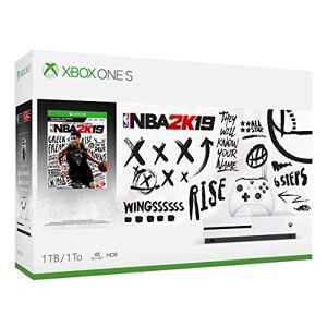 Microsoft Xbox One S 1TB Console NBA 2K19 Bundle [Importado]