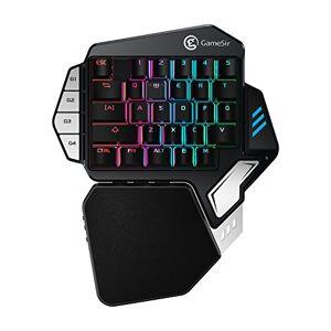 GameSir Z1 RGB Kailh Mechanical Gaming Keyboard One Handed Wireless Mini Keypad FPS PUBG Mobile Game Keyboard