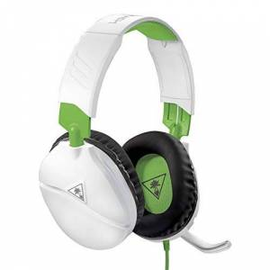 Turtle Beach Recon 70 White Gaming Headset for Xbox One, PlayStation 4 Pro, PlayStation 4, Nintendo Switch, PC, and Mobile Xbox One