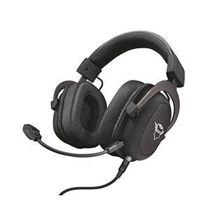 Trust Gaming GXT 414 Zamak Cómodos Auriculares prémium, diseñados para Xbox One, Xbox Series X S, PS4, PS5, Nintendo Switch, PC, Mobile, Tablet, Negro