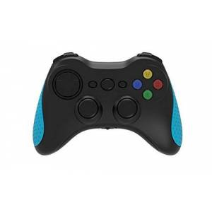Emtec GEM Pad Wireless Gamepad Android Negro, Azul Volante/mando (Gamepad, Android, Analógico, Inalámbrico, Bluetooth, 10 m)