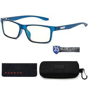Gunnar Optiks GUNNAR Youth Gaming and Computer Eyewear /Cruz, Navy Frame, Clear Tint Patented Lens, Reduce Digital Eye Strain, Block 35% of Harmful Blue Light