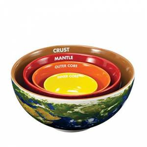 The Coop Earth Cross Section Nesting Bowls