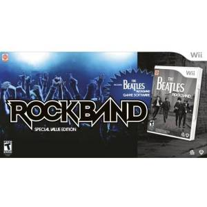 MTV Games Wii The Beatles: Rock Band Special Value Edition