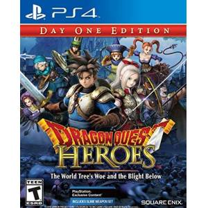 Square Enix Quest Heroes: The World Tree's Woe & Blight PlayStation 4