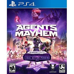 Square Enix (Deep Silver) Agents of Mayhem Day 1 Edition PlayStation 4