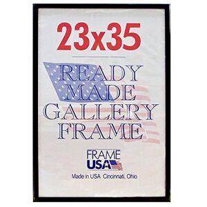 Frame USA Marco de póster de Lujo, 23 x 35 Pulgadas, Color Negro