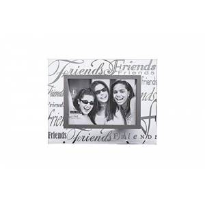 Malden International Designs Malden Clear Expressions Glass Picture Frame, Friends, 4 by 6-Inch