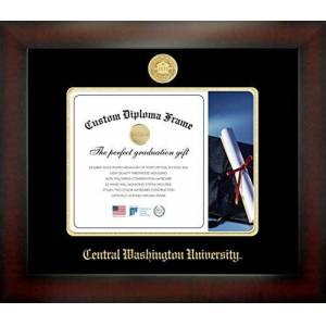 Celebration Frames Infinity Marco de Diploma (Caoba)