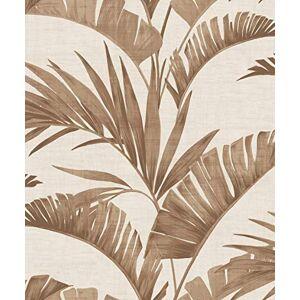 Arthouse plátano Palm Coffee Papel Pintado no Tela, Rollo Completo,
