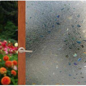 Arthome WALL DECOR Arthome Película Decorativa de Vidrio,45CM x 254CM,Sin Pegamento Vinilo Pegatina de Ventanas,Proteger La Privacidad Adherencia Electrostática,Anti UV,Adecuado Hogar Para Sala De Estar Baño Dormitorio Cocina Oficina