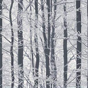 Arthouse 670200Esmerilado Papel Pintado de Madera, Color Plateado