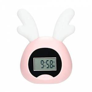 ZnMig Durable Luz De Despertador Inteligente LED Despertador Electrónico Colorido Wake-up Light Salida del Sol Cabecera Alarma repetitiva Viaje Reloj Despertador (Color : A2, tamaño : 108x70.5x155mm)