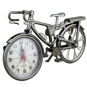 Zoomarlous Reloj Despertador con Forma de Bicicleta clásico, Adorno para decoración del hogar