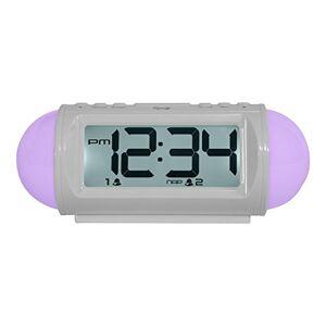 La Crosse Technology 31112 Despertador (White, LED, 184 x 76 x 73, White)