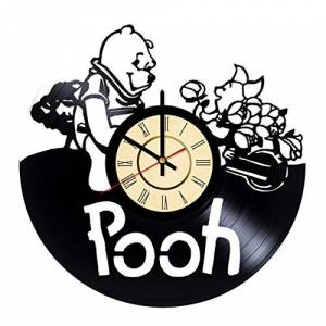 STP Cat Winnie The Pooh Bear Reloj de Pared con diseño de Oso de Peluche