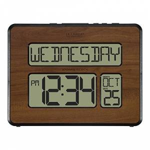 La Crosse Technology 513-1419-WA-INT Atomic Reloj Digital con Calendario (tamaño Grande)