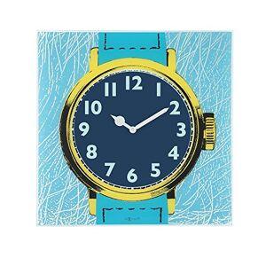 NexTime 1660-86 Reloj de pared vidrio watch one