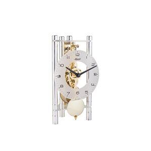 Hermle Reloj Moderno con Mecanismo a 8 días de Cuerda de