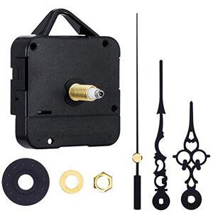zuoshini Reloj de cuarzo  con mecanismo de cuarzo, mecanismo de reloj de pared, mecanismo de cuarzo, reloj de repuesto, kit de movimiento para reparación de reloj, husillo de repuesto, 8 mm, mano de 73 mm