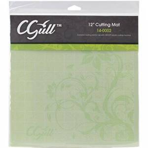 CGull Cricut Style Cutting Mat, 12-Inch by 12-Inch