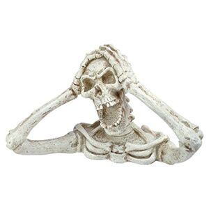 Design Toscano Shriek La estatua de esqueleto, Contemporáneo, Multicolor, Mediano, 1