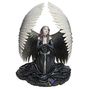Design Toscano Oración para el ángel caído Estatua por el Artista Anne Stokes