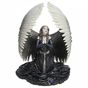 Design Toscano Estatua de ángel caído de la Artista Anne Stokes