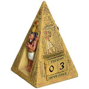 Design Toscano Egipcio Iconos Calendario perpetuo Estatua