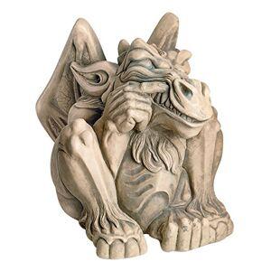 Design Toscano Estatua de gárgola (tamaño Grande), Rústico, Gothic Stone, Mediano, 1
