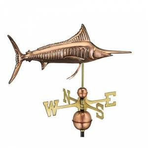 Good Directions Marlin Weathervane in Polished Finish