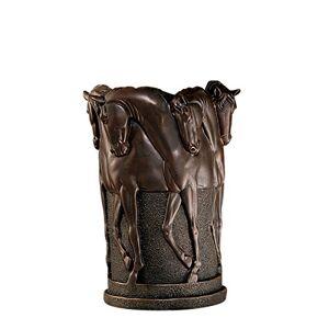Design Toscano KY48017 12H Figura Decorativa Las Seis Piedras del hipopódromo Vessel, Novedad, Marrón, 1