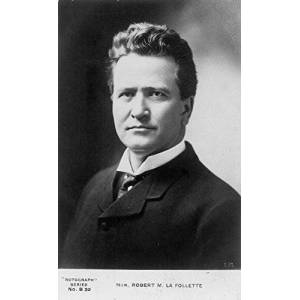 Posterazzi Robert M La Follette N(1855-1925) American Political Leader Poster Print by (18 x 24)