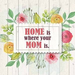 Posterazzi Póster de Mom Is Home por Kimberly Allen (12 x 12)
