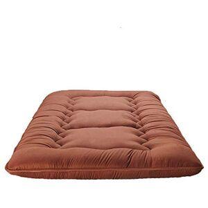MWPO Estera de Piso de Tatami japonés, colchón de futón japonés Engrosado colchoneta de Dormir Plegable Plegable Gruesa portátil-E 100x200cm (39x79 Pulgadas)